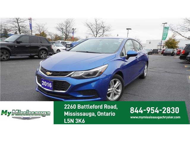 2016 Chevrolet Cruze LT Auto (Stk: 1203) in Mississauga - Image 1 of 20
