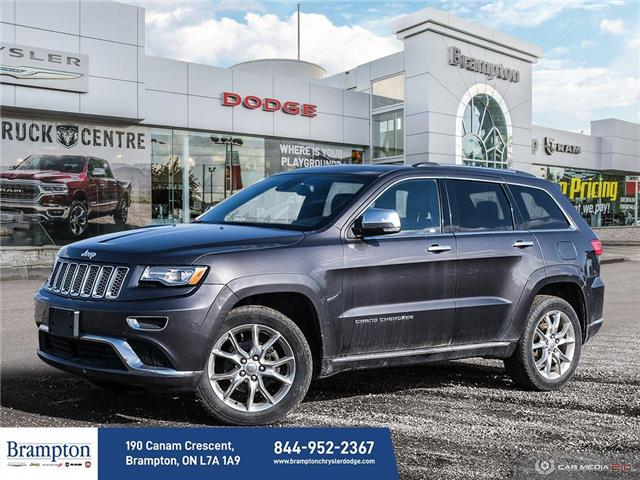 2014 Jeep Grand Cherokee Summit (Stk: 13813A) in Brampton - Image 1 of 30