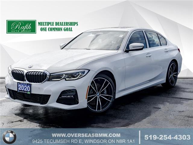 2020 BMW 330i xDrive (Stk: B8277) in Windsor - Image 1 of 23