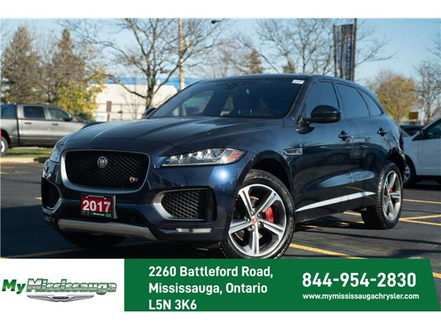 2017 Jaguar F-PACE S (Stk: 20CV7171A) in Mississauga - Image 1 of 25