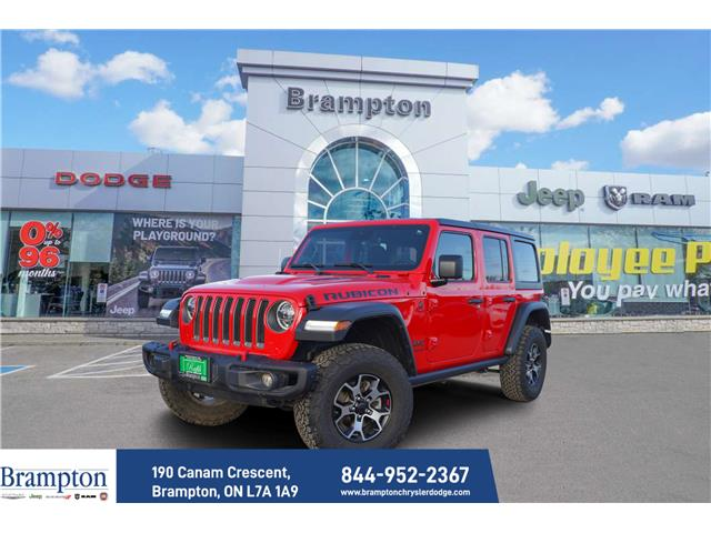 2020 Jeep Wrangler Unlimited Rubicon (Stk: 21182A) in Brampton - Image 1 of 21