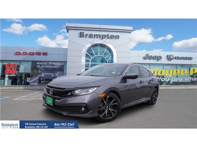 2019 Honda Civic Sport (Stk: 13877) in Brampton - Image 1 of 26