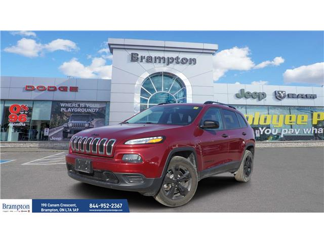 2016 Jeep Cherokee Sport (Stk: 21034A) in Brampton - Image 1 of 21