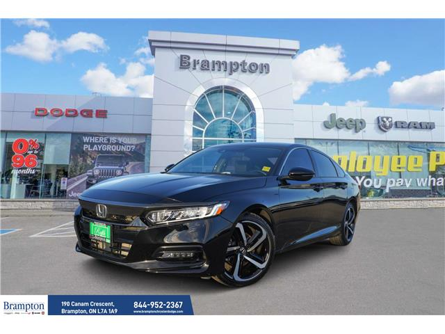 2020 Honda Accord Sport 1.5T (Stk: 20999A) in Brampton - Image 1 of 48