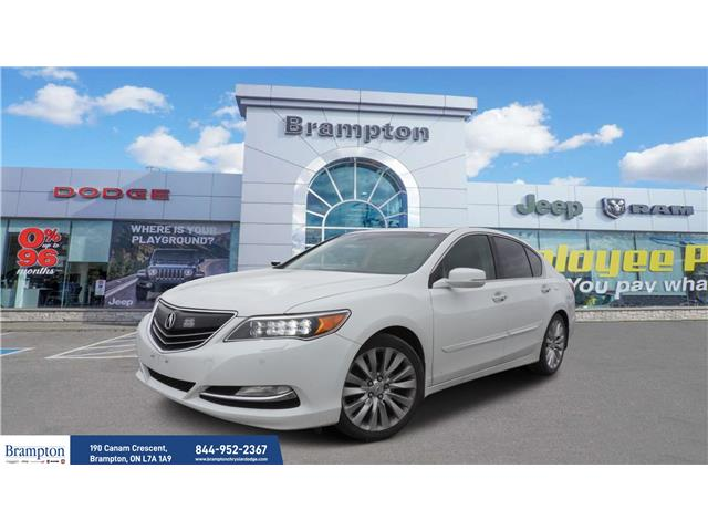 2014 Acura RLX Base (Stk: 21213A) in Brampton - Image 1 of 20