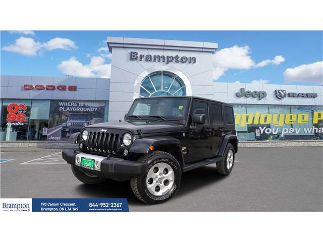2015 Jeep Wrangler Unlimited Sahara (Stk: 91561B) in Brampton - Image 1 of 18