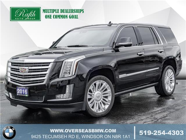 2016 Cadillac Escalade Platinum (Stk: B8364A) in Windsor - Image 1 of 23