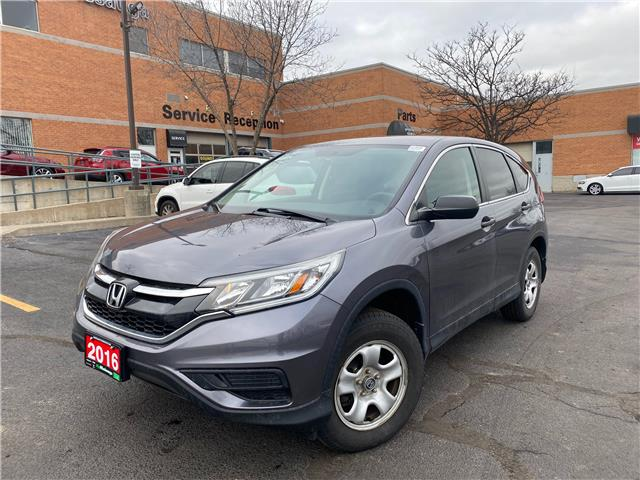 2016 Honda CR-V LX (Stk: 21004A) in Mississauga - Image 1 of 18