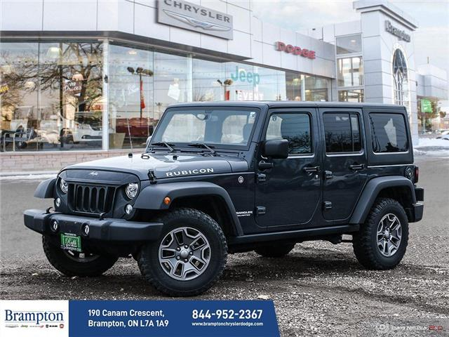 2017 Jeep Wrangler Unlimited Rubicon (Stk: 21048A) in Brampton - Image 1 of 30