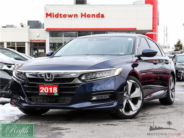 2018 Honda Accord Touring (Stk: P14306) in North York - Image 1 of 30