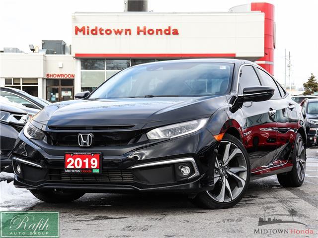 2019 Honda Civic Touring (Stk: P14310) in North York - Image 1 of 30