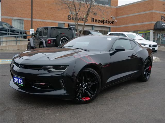 2018 Chevrolet Camaro 1LT (Stk: 21112A) in Mississauga - Image 1 of 25