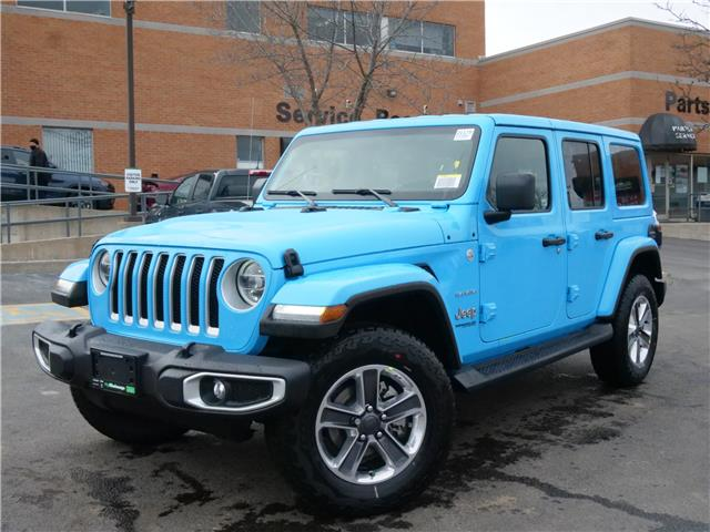 2021 Jeep Wrangler Unlimited Sahara (Stk: 21179) in Mississauga - Image 1 of 6