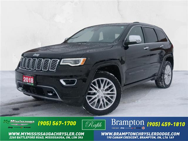 2018 Jeep Grand Cherokee Overland (Stk: 1294) in Mississauga - Image 1 of 23