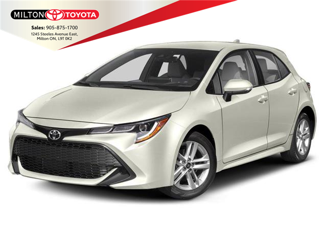 2020 Toyota Corolla Hatchback Base (Stk: 093617) in Milton - Image 1 of 9