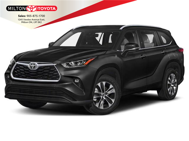 2020 Toyota Highlander XLE (Stk: 508522) in Milton - Image 1 of 9