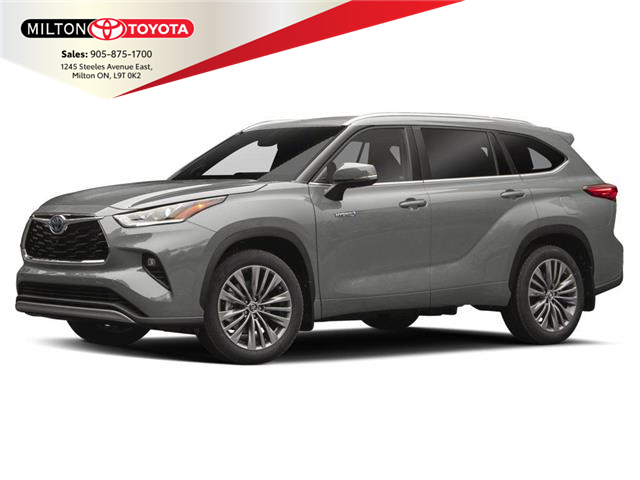 2020 Toyota Highlander Hybrid Limited (Stk: 011241) in Milton - Image 1 of 2