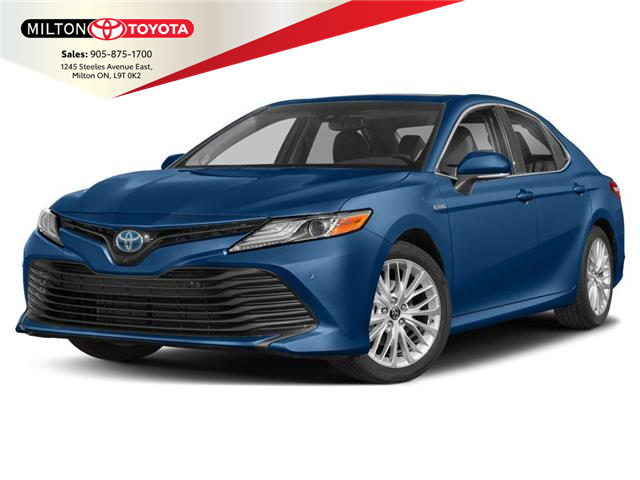 2020 Toyota Camry Hybrid SE (Stk: 015025) in Milton - Image 1 of 9