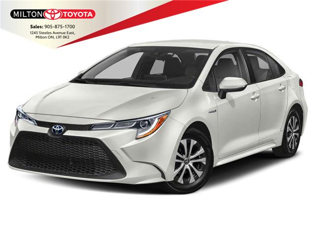 2021 Toyota Corolla Hybrid Base w/Li Battery (Stk: 009623) in Milton - Image 1 of 9