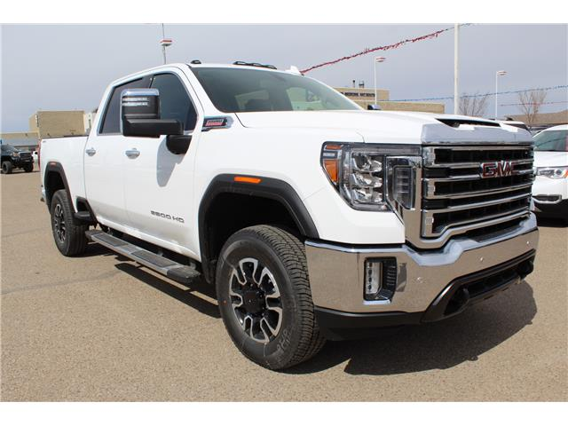 2020 GMC Sierra 3500HD SLT (Stk: 183584) in Medicine Hat - Image 1 of 28