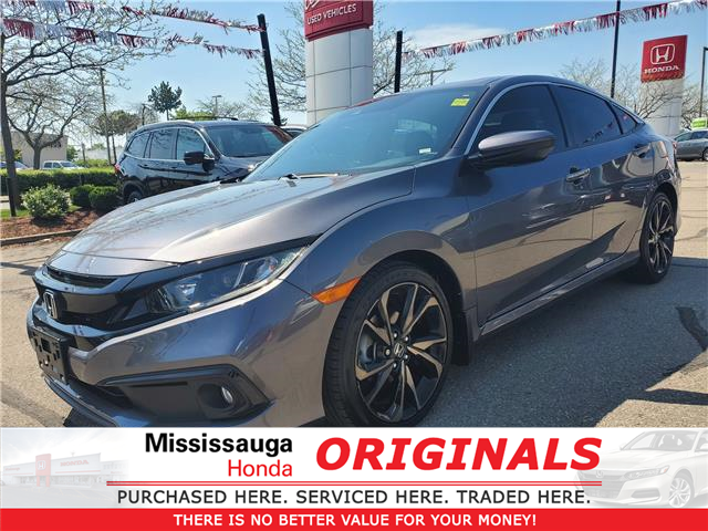 2019 Honda Civic Sport (Stk: 327835A) in Mississauga - Image 1 of 23