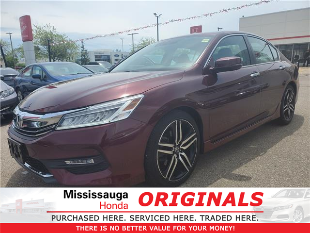 2016 Honda Accord Touring (Stk: 328025A) in Mississauga - Image 1 of 25