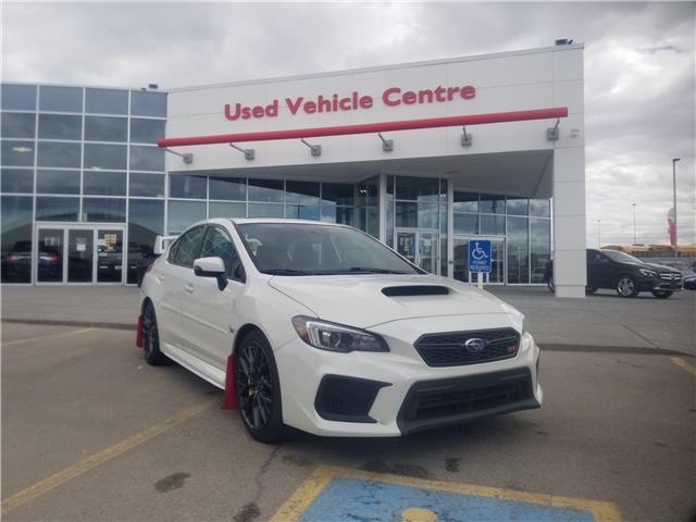 2018 Subaru WRX STI Sport (Stk: U204040A) in Calgary - Image 1 of 26