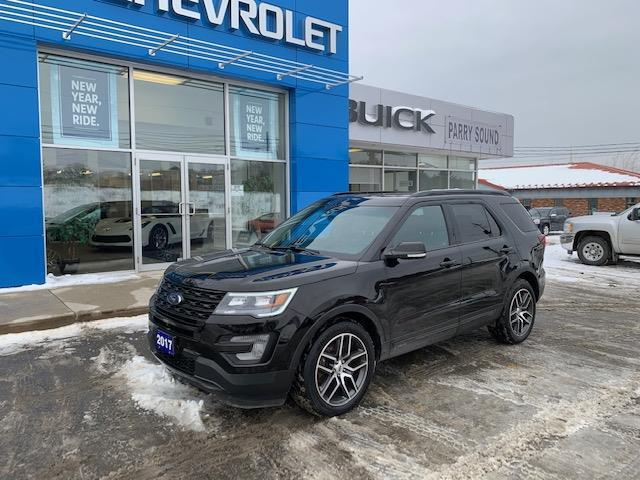 2017 Ford Explorer Sport (Stk: PS20-002) in Parry Sound - Image 1 of 12