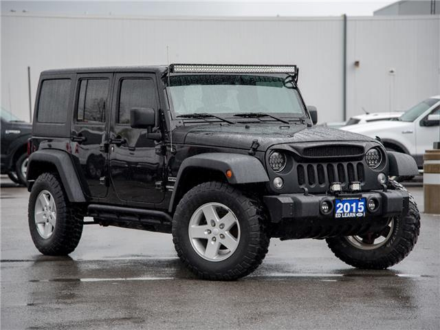 2015 Jeep Wrangler Unlimited Sport (Stk: 20MU294T) in St. Catharines - Image 1 of 19