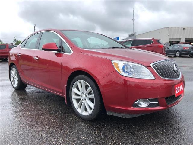 2016 Buick Verano Leather (Stk: 20B204A) in Tillsonburg - Image 1 of 27