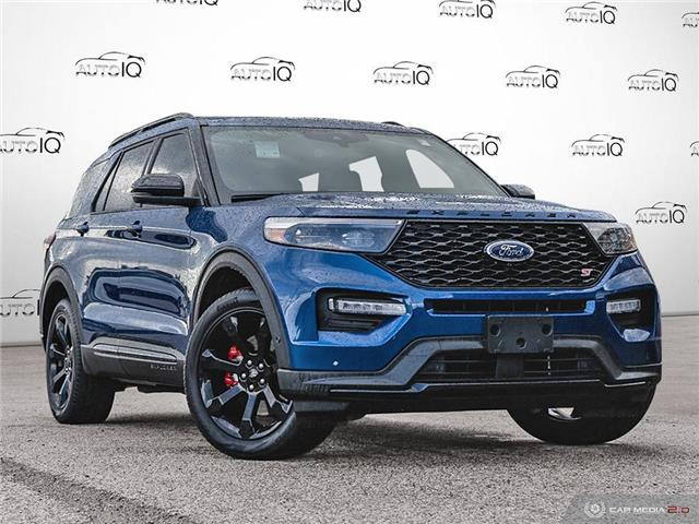 2020 Ford Explorer ST Blue