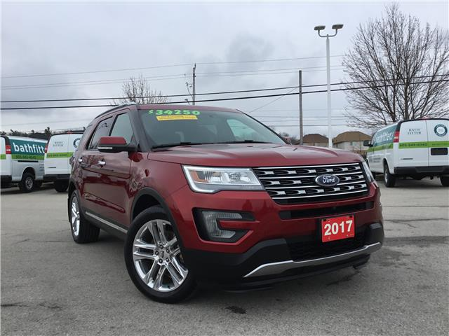 2017 Ford Explorer Limited (Stk: L161A) in Grimsby - Image 1 of 24
