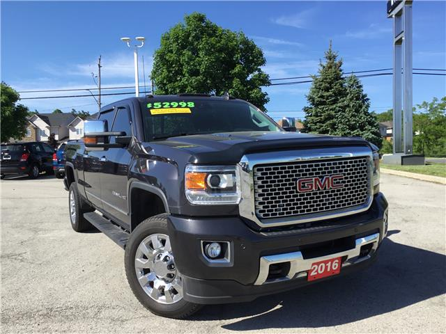 2016 GMC Sierra 2500HD Denali (Stk: L123A) in Grimsby - Image 1 of 9