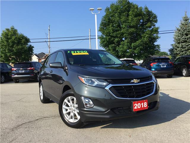2018 Chevrolet Equinox LT (Stk: L016AX) in Grimsby - Image 1 of 22