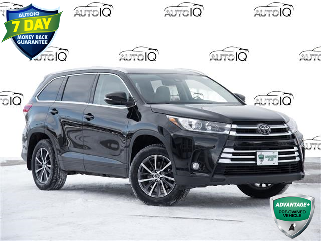 2017 Toyota Highlander XLE Black