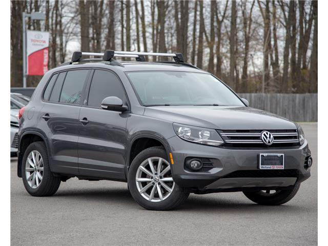 2017 Volkswagen Tiguan Wolfsburg Edition (Stk: 3699A) in Welland - Image 1 of 20