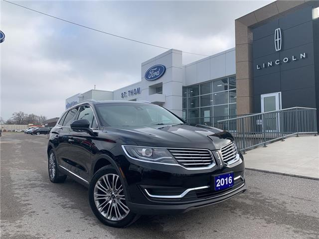 2016 Lincoln MKX Reserve (Stk: S9415A) in St. Thomas - Image 1 of 27