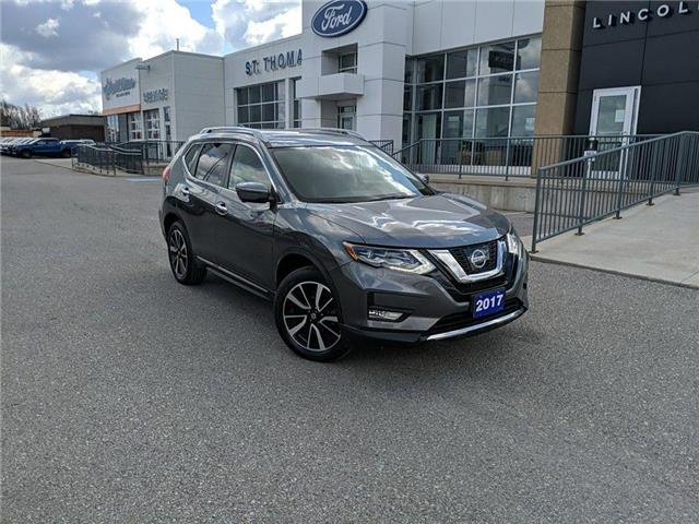 2017 Nissan Rogue SL Platinum (Stk: S9889A) in St. Thomas - Image 1 of 17