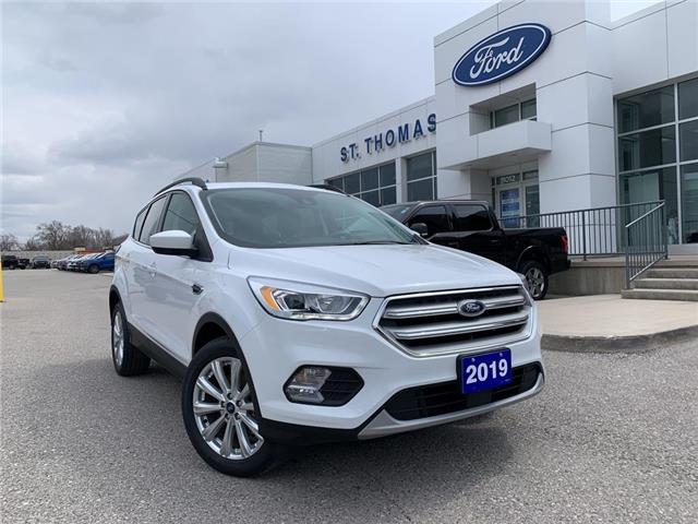 2019 Ford Escape SEL (Stk: P6911A) in St. Thomas - Image 1 of 28