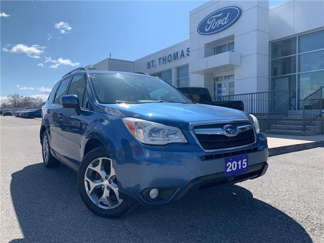 2015 Subaru Forester 2.5i Touring Package (Stk: S9880A) in St. Thomas - Image 1 of 28