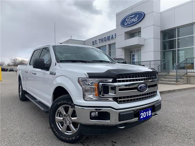 2018 Ford F-150 XLT (Stk: T0240A) in St. Thomas - Image 1 of 22