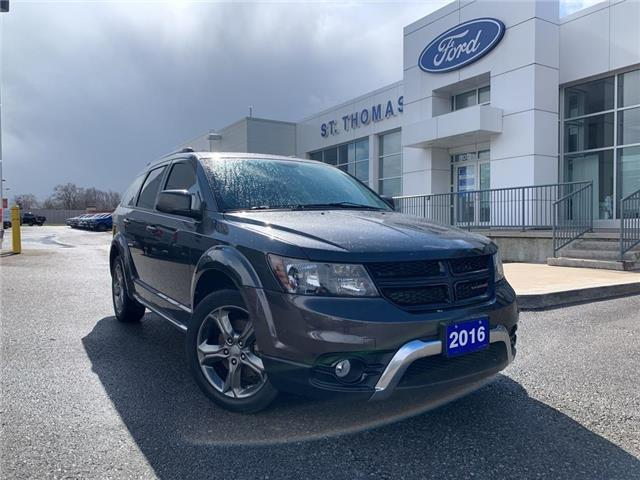 2016 Dodge Journey Crossroad (Stk: P6902B) in St. Thomas - Image 1 of 30