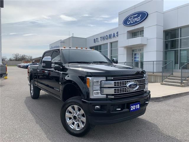 2018 Ford F-250 Platinum (Stk: T0180A) in St. Thomas - Image 1 of 30