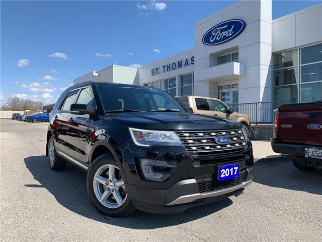 2017 Ford Explorer XLT (Stk: S0057A) in St. Thomas - Image 1 of 29