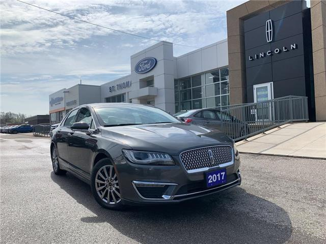 2017 Lincoln MKZ Select (Stk: S0243A) in St. Thomas - Image 1 of 27