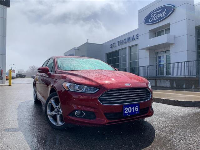 2016 Ford Fusion SE (Stk: L6913A) in St. Thomas - Image 1 of 28
