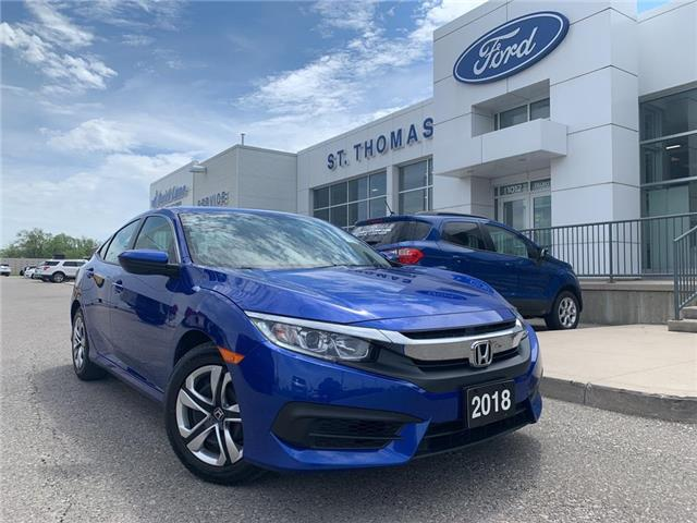 2018 Honda Civic LX (Stk: P6922B) in St. Thomas - Image 1 of 25