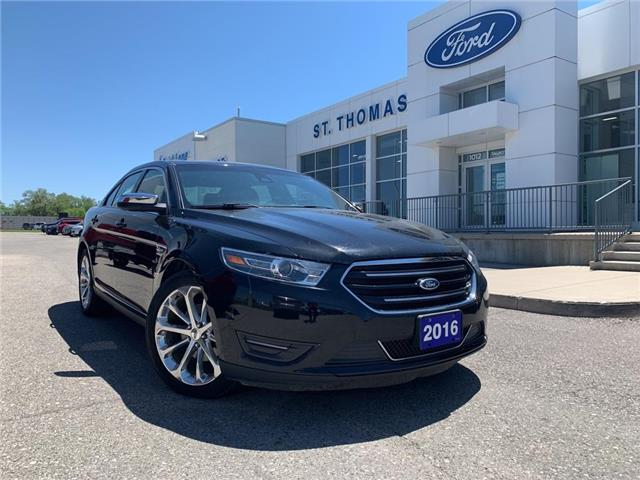 2016 Ford Taurus Limited (Stk: T0257B) in St. Thomas - Image 1 of 28