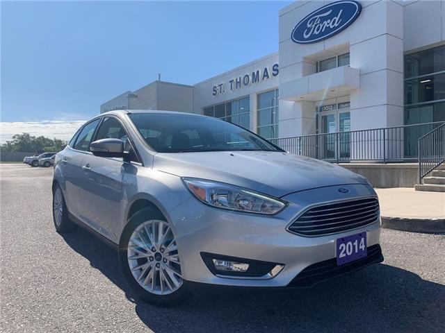 2016 Ford Focus Titanium Silver