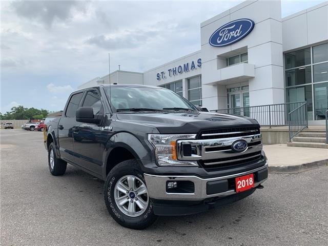 2018 Ford F-150 XLT (Stk: T0249A) in St. Thomas - Image 1 of 24